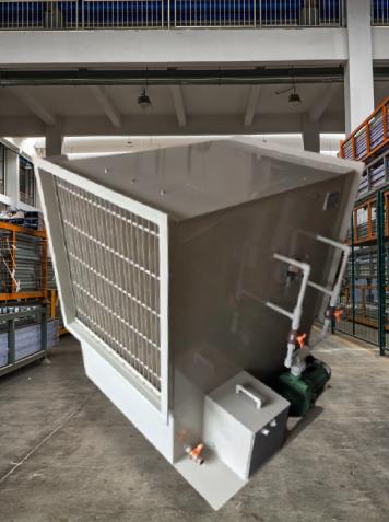 Lavador de AR Adiabático Horizontal FK-H-10.000