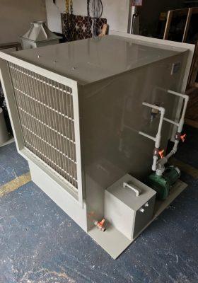 Lavador de Gases Horizontal FK-H-10.000